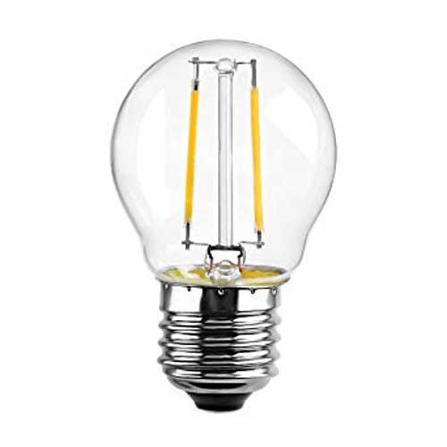 6W E27 LED FILAMENT Birne G45 360° Retrofit Glass Neutral-, Warmweiß GL1338/GL1339 Led-Planet Shop Wien