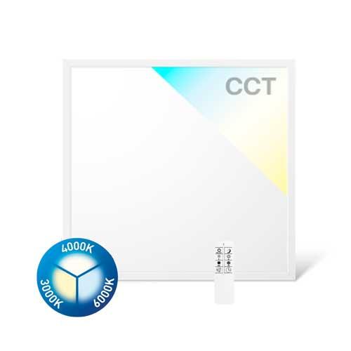 40W LED Panel Ultraslim CCT CRI90 620x620cm Fernbedienung oder SMART WIFI GL2340 Led-Planet Shop Wien