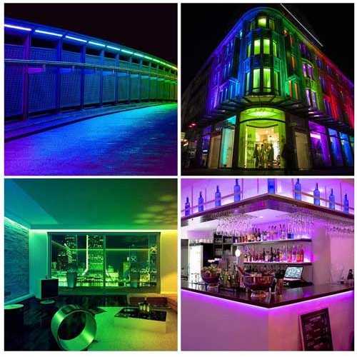 SET 2m 9W/m DIGITAL LED STREIFE 30SMD/m RGB 12V Programmierbar PCB Schwarz WS2811 GL4329S2 Led-Planet Shop Wien