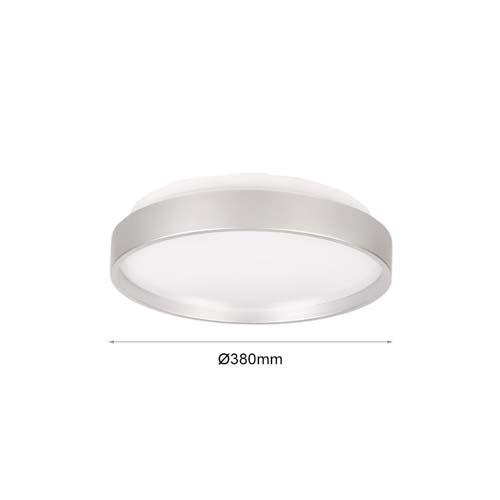 24W LED Deckenleuchte PREMIUM CCT Schaltersteuerung Silber 3000K-6000K GL8703G24 Led-Planet Shop Wien