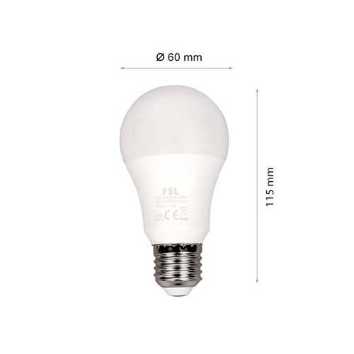4 x 12W E27 LED Birnen SET PRO SERIE 3 Jahre GARANTIE A60 Matt Kalt-, Neutral- und Warmweiß Led-Planet Shop Wien