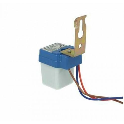Dämmerungsschalter Aufputz Montage IP44 LED 2000W Schwarz VL3638/UL5081
