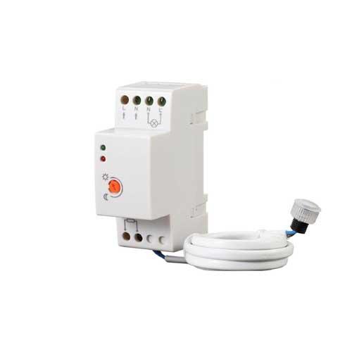 Dämmerungsschalter DIN-RAIL Montage IP65 LED 2000W VL3639