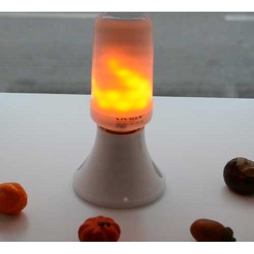 6.5W E27 LED BIRNE Flame DECO Matt Warmweiß 1300K-1700K VL4106