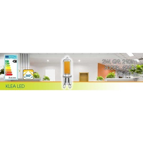 2W G9 LED FILAMENT RETROFIT für Deckenstrahler und Pendelleuchten PREMIUM Neutralweiß VL3978 Led-Planet Shop Wien