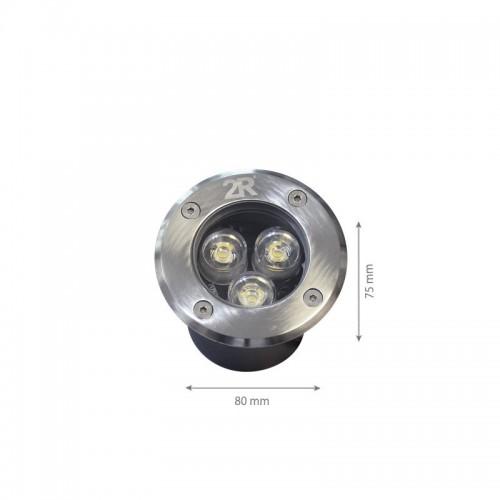 3W LED Bodenbeleuchtung CARO 12V DC Neutralweiß GL8304 Led-Planet Shop Wien