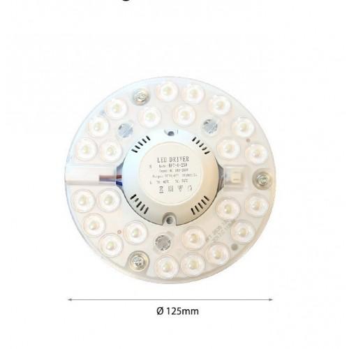 12W LED PLATTE MAGNET Kaltweiß GL4801