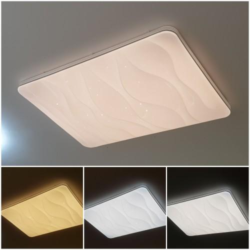 120W LED Deckenleuchte CCT Panel Fernbedienung Alle Lichtfarben GL6430 Led-Planet Shop Wien