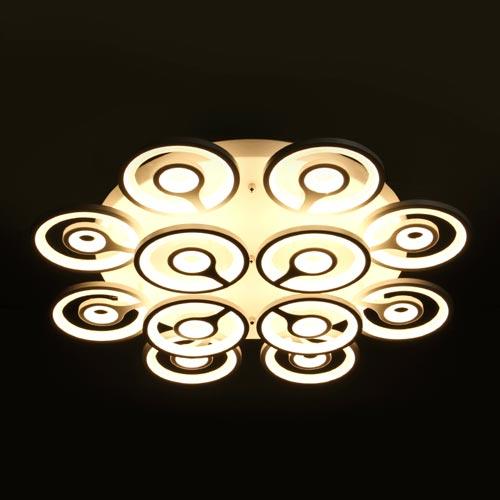 192W LED Deckenleuchte CCT Premium Design DIMMBAR Alle Tageslichtfarben GL6437 Led-Planet Shop Wien