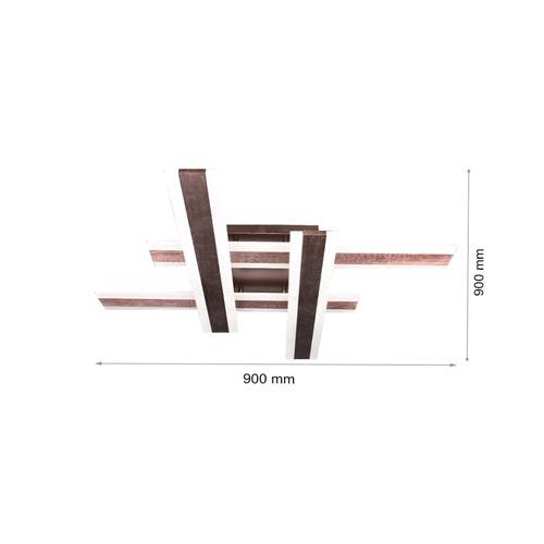 112W LED Deckenleuchte CCT Premium Design Geometrisch DIMMBAR Alle Tageslichtfarben GL6445 Led-Planet Shop Wien