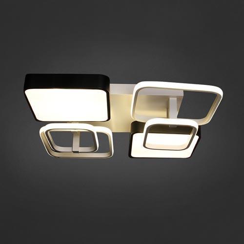 120W LED Deckenleuchte CCT Premium Design Geometrisch DIMMBAR Alle Tageslichtfarben GL6446 Led-Planet Shop Wien
