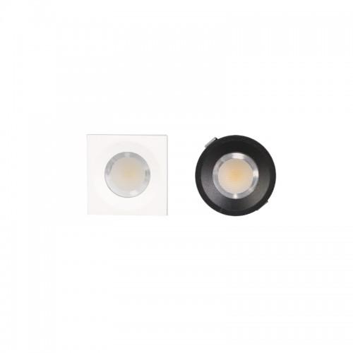 3W Led Einbauspot Angle Eye NYS04 30° QUAD Schwarz Neutralweiß GL2013