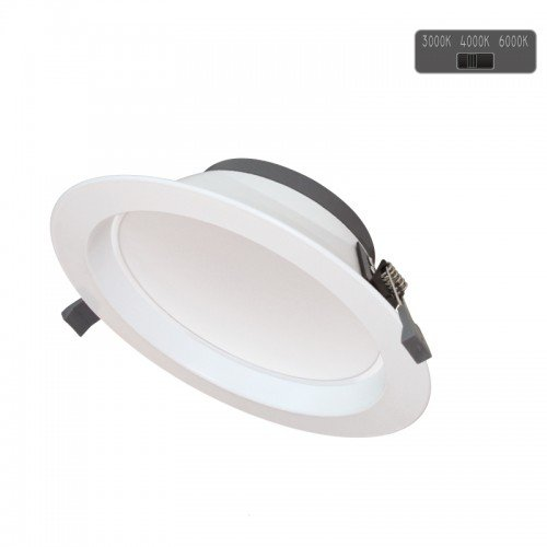 30W LED Einbau Strahler PREMIUM CYCLONE 5 Jahre Garantie DIMMBAR 3 LICHTFARBEN CCT GL2138