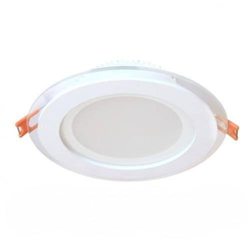 18W LED Einbauleuchte GLAS PREMIUM 230V Rund Kalt-, Neutral-, Warmweiß GL2156 Led-Planet Shop Wien
