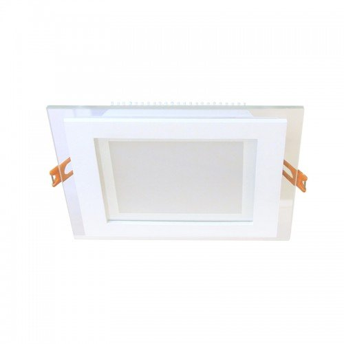 6W LED Einbauleuchte GLAS PREMIUM 230V Quad Kalt-, Neutral-, Warmweiß GL2157 Led-Planet Shop Wien