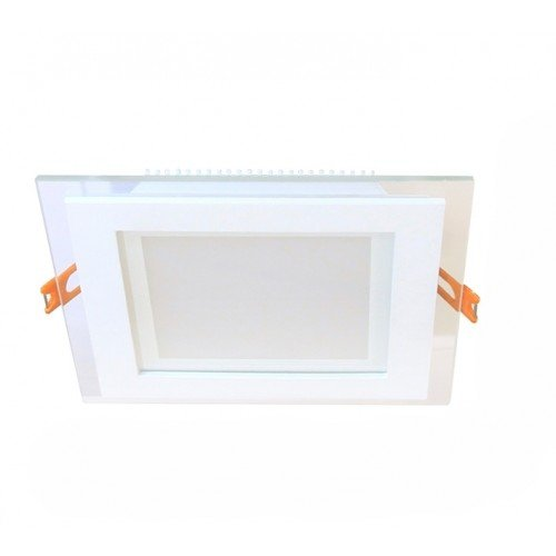 18W LED Einbauleuchte GLAS PREMIUM 230V Quad Kalt-, Neutral-, Warmweiß  GL2159 Led-Planet Shop Wien
