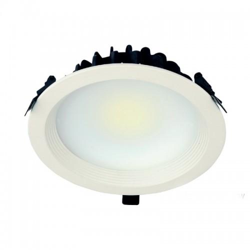30W LED Einbauleuchte PREMIUM  RUND Matt Neutralweiß IP44 GL2171