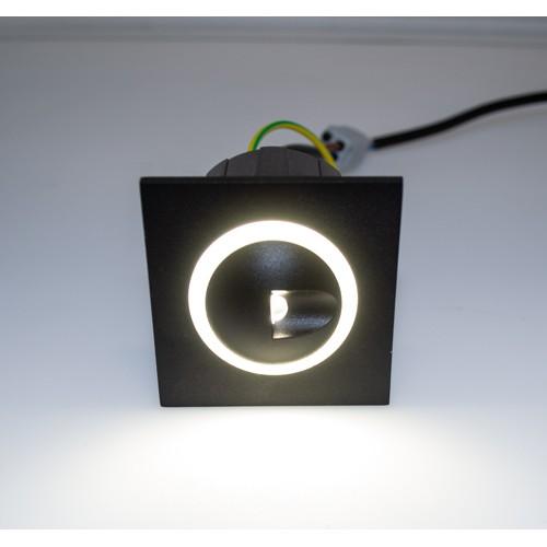 3W LED Treppenleuchte Premium Design RD06 Neutralweiß GL8321 Led-Planet Shop Wien