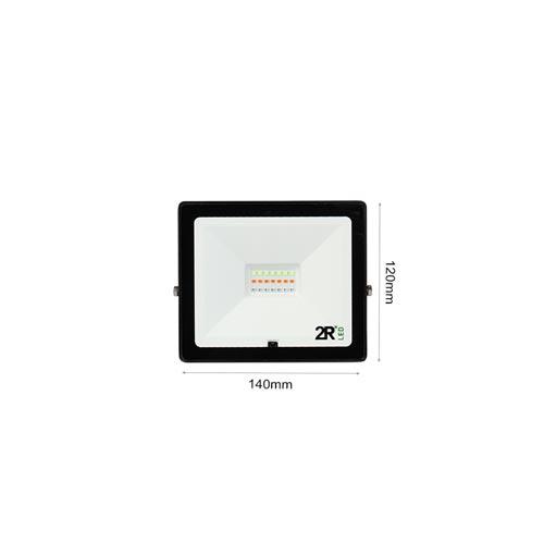 20W LED Fluter RGB Dimmbar und Ferngesteuert