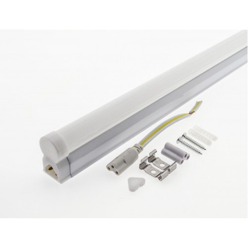 4W LED Röhre T5 30cm Küchenbeleuchtung 230V, MATT 5000K Neutral- Warmweiß