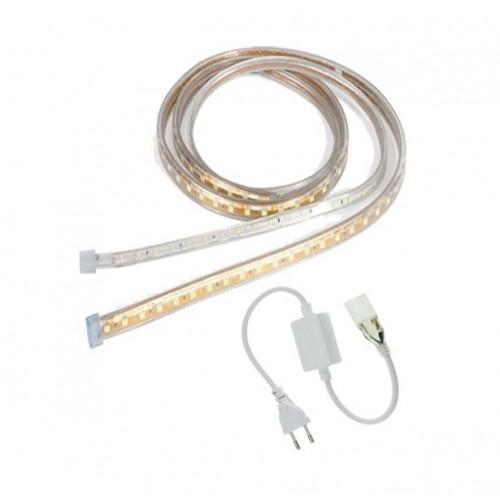 SET 60SMD/m 5050 LED Flex Streife 230V WASSERDICHT IP65 Kaltweiß GL4501S Led-Planet Shop Wien
