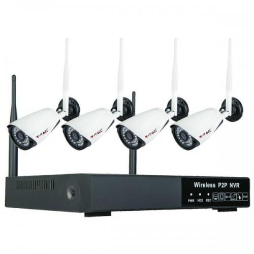 1080P WLAN NVR Camera Full Set Indoor