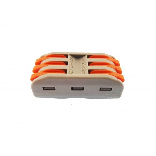 10 x Verbindungsklemmen 3 PIN 2 WAY TERMINAL Konnektor 4KW UL11133