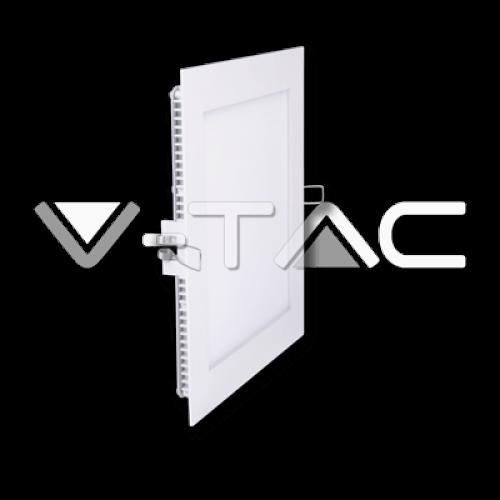12W LED Einbaupanel 230V PREMIUM Quadratisch Kalt- Neutral- und Warmweiß