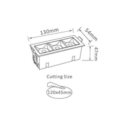 12W LED Einbau Modul SAMSUNG PREMIUM 38° Kalt-, Neutral-, Warmweiß UL0988/UL0989/UL0990 Led-Planet Shop Wien