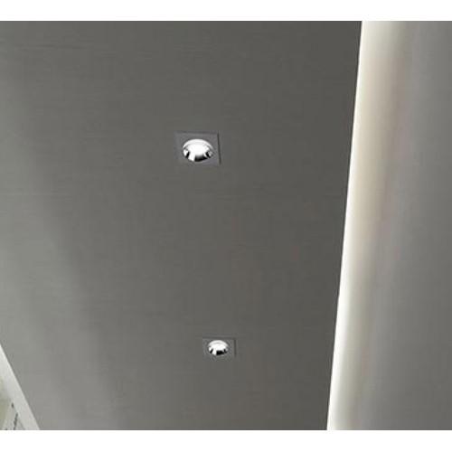 Einbauleuchte Gips Trockenbau GU10 Spot Quad Chrom UL3149 Led-Planet Shop Wien