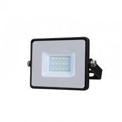 10W LED Fluter SAMSUNG 5 Jahre Garantie IP65 Schwarz Kalt-, Neutral-, Warmweiß