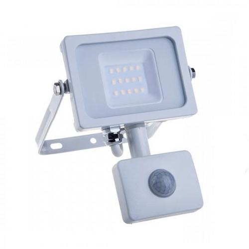 10W LED Fluter IP65 SAMSUNG Bewegungsmelder 5 Jahre Garantie PREMIUM WEIß Kalt-,Neutral-, Warmweiß UL0435/UL0434/UL0433
