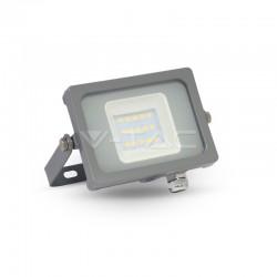 10W LED Fluter SMD IP65 GRAU PREMIUM Kaltweiß UL5782