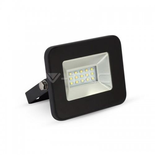 10W LED Fluter SMD IP65 SCHWARZ i-DESIGN Kaltweiß UL5877
