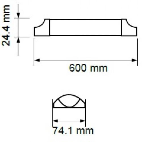 15W LED Battenleuchten SAMSUNG 60cm IP20 HILUMEN Kalt-, Neutral-,Warmweiß UL6489/UL6488/UL6487 Led-Planet Shop Wien