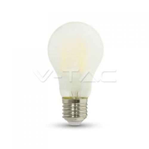 7W E27 LED FILAMENT A60 300° Glass Kaltweiß Matt 3000K-6400K