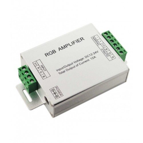 144W Verstärker für LED Streife/Leiste RGB (3x4A) UL3009