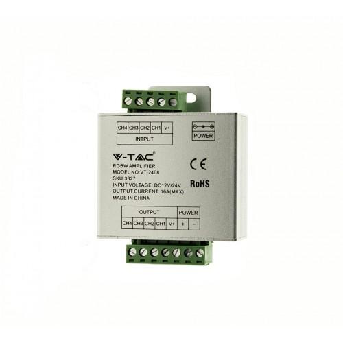192W RGBW Verstärker für RGBW/ RGBWW / RGBNW Strips (4x4A) UL3327 Led-Planet Shop Wien