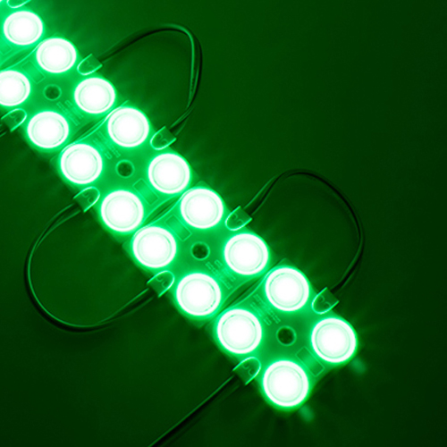 10 x Hi Lumen LED Module SET 4 SMD 2835 IP68 Rot, Blau, Grün UL5131/UL5132/UL5133