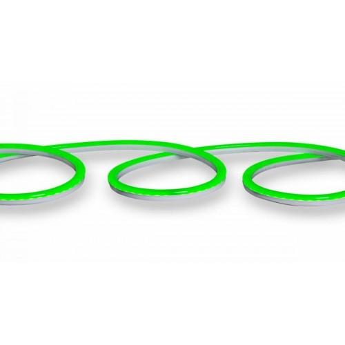 120SMD/m LED FLEX NEON 1m 12W/m PREMIUM 230V IP65 Wasserdicht Grün GL4605