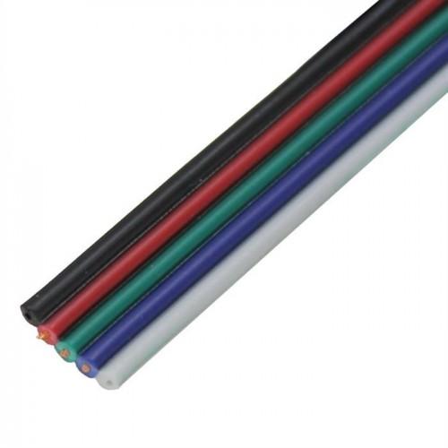 1m RGBW Kabel 5-polig Led-Planet Shop Wien