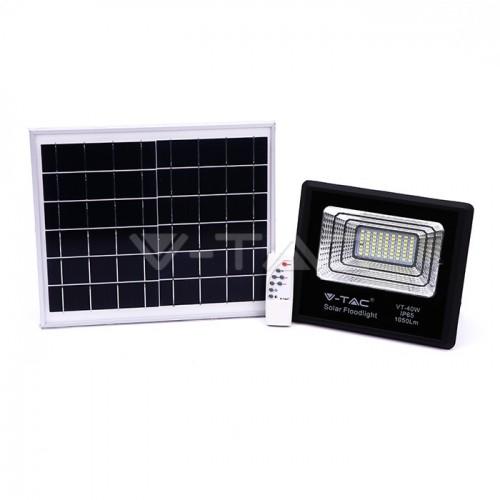 LED SOLAR-STRAHLER 1050LM PREMIUM MIT SOLAR PANEL VT-40W KALTWEIß UL94008 Led-Planet Shop Wien