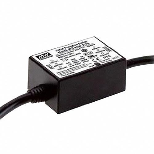 LED Überspannung Sicherung MeanWell IP66 max20kA Thermoschutz SPD20HP-277S