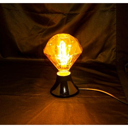 4,5W E27 LED FILAMENT OSRAM DIAMANT Pendelleuchte 360° Glass Ultra-Warmweiß OS1955 Led-Planet Shop Wien