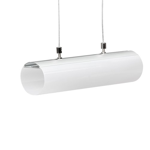 2 Meter SET LED Profil Zylinder eloxiert 2m APN212LX