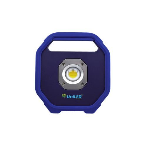 20W LED Akku Scheinwerfer Wiederaufladbar PRO Blau COB Kaltweiß