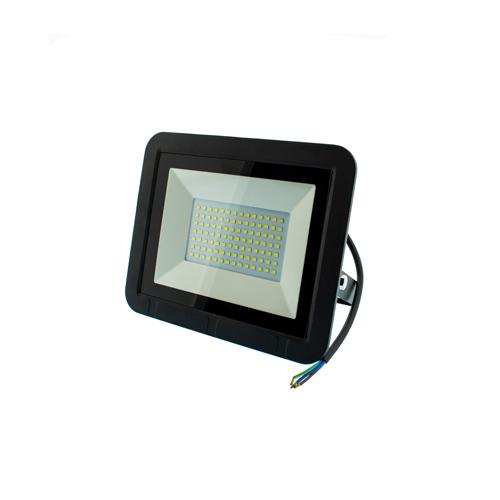 50W LED Strahler SMD IP65 Schwarz  Kalt, Neutralweiß AS0130/AS0115 Led-Planet Shop Wien