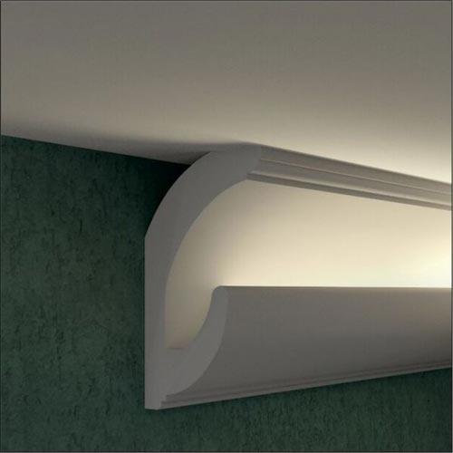 Zierprofil 1M für LED Beleuchtung LD01.4